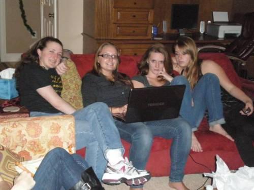 Samantha and cousins