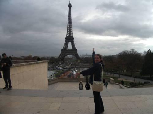 Samantha and Eifel tower