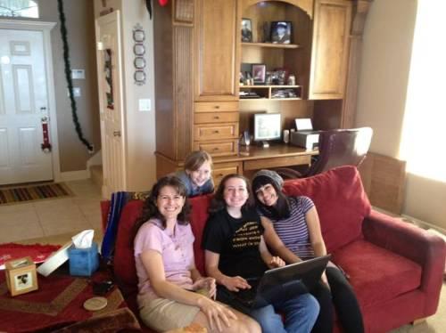 Samantha and friends