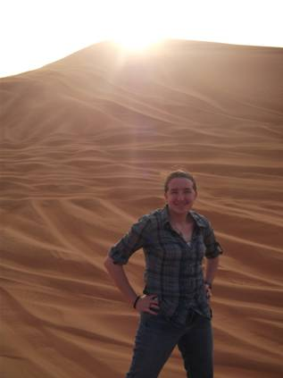Samantha desert 1