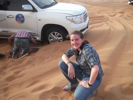 Samantha desert 2