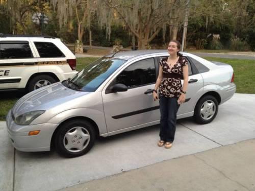 Samantha new car